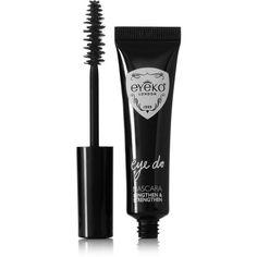 Eyeko + Alexa Chung Eye Do Mascara - Carbon Black (€20) ❤ liked on Polyvore featuring beauty products, makeup, eye makeup, mascara, beauty, eyes, fillers, black, eyeko mascara and lengthening mascara
