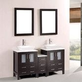 "Found it at Wayfair - 60"" Double Bathroom Vanity Set"