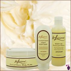 One for me, One for You... Shop the delicious Lalacious coconut cream aromatherapy for all!