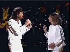 Barbra Streisand and Barry Gibb  (HQ/1080p/1440p) - Guilty