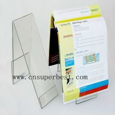 Acrylic Hand Free Book Holder Book Stand - Buy Acrylic Book Stand,acrylic Hand…