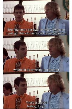 Old-fashioned romantic feeling #dumbanddumber