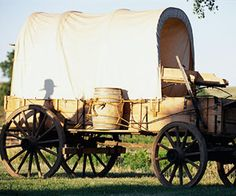 Wagons, ho!.. I've always had a thing for covered wagons. I blame the Oregon Trail computer game :)