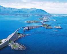 Atlantic Ocean Road, Norway - 15 Epic Roads to Drive Before you Die