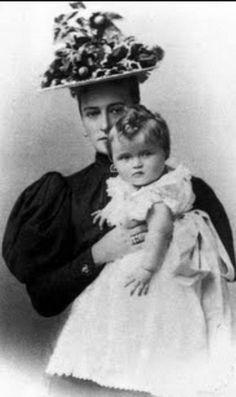 Alix and Baby Olga