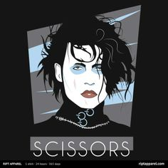 Scissors T-Shirt $10 Edward Scissorhands tee at RIPT today only!