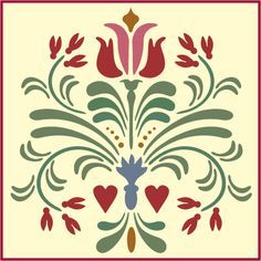 stencil designs scandinavian - Google Search