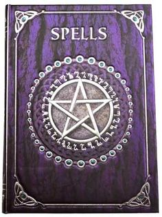 Spell Book Purple Journal [BBBU146] - $12.95 : Wicca, Pagan and Occult Practice Mega Store - www.thetarotoracle.com