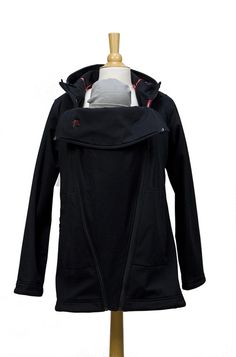 The M Coat Maternity and Babywearing Rain Shell by MaternityClock, $195.00