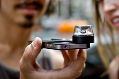 Take 360-degree panoramic video with your iPhone 4 using Kogeto's Dot snap-on accessory lens and Looker