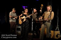 Photos – Lindsay Lou & The Flatbellys, 9/10/15, 20th Century Theater, Cincinnati, OH