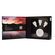 Philips Hue, sistem iluminat personalizat, 3x6.5W, GU10, pachet Starter