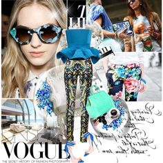 Sping Printed! by lacybow on Polyvore