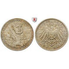 Deutsches Kaiserreich, Sachsen-Weimar-Eisenach, Wilhelm Ernst, 2 Mark 1908, Universität Jena, f.st, J. 160: Wilhelm Ernst 1901-1918.… #coins