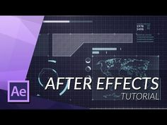 HOW TO MAKE AN AWESOME FUTURISTIC HUD IN AFTER EFFECTS - YouTube