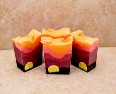 Organic Soap Gift Soap Sweet Angelas Sunrise by UptownGirlSoap