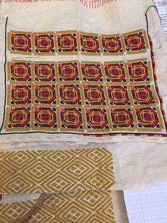 Romanian blouse in the making - Ilfov region Brick Stitch, Cross Stitching, Romania, Textiles, Traditional, Quilts, Embroidery, Home Decor, Folklore