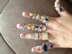 Bling yourself out with rings from Diamond Candles.