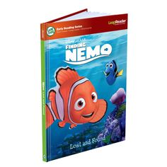 Amazon.com: LeapFrog LeapReader Book: Disney·Pixar Finding Nemo, Lost and Found (works with Tag): Toys & Games