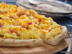 Morning Pizza - You've gotta try this recipe for your weekend brunch!