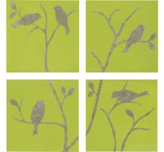 bird stencils   Charlotte Cottage: Nest (n.): A place of retreat, rest, or lodging