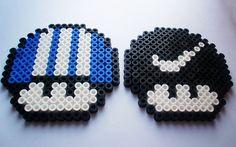 Mushroom Hama beads, via Flickr.