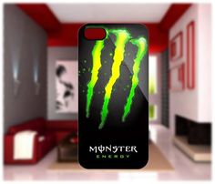 Monster Energy Case For iPhone 4/4S iPhone 5 Galaxy S2/S3   GlobalMarket - Accessories on ArtFire