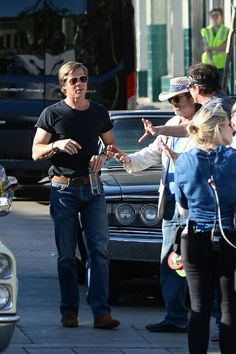 Brad Pitt Pictures, Quentin Tarantino, Leonardo Dicaprio, White Man, In Hollywood, Going Out, First Love, Eye Candy, Handsome