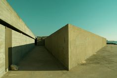Completed in 1966 in Matosinhos, Portugal. Since its completion in 1966 the Leça Swimming Pool complex, by Portuguese architect Alvaro Siza, has been an internationally recognized building. Modern Landscaping, View Image, Facade, Swimming Pools, Cool Designs, Stairs, Architecture, Gallery, Classic