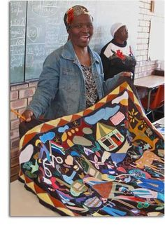 South African quilt.  From www.nancycrow.com