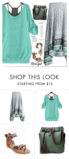 """""""Be in trend... with Rosegal! 26"""" by s-o-polyvore ❤ liked on Polyvore featuring red, Fahion and rosegal"""