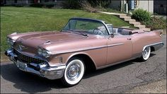 The 1958 Cadillac Eldorado Biarritz. One year only model.