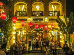Morning Glory restaurant, Hoi An, Vietnam.
