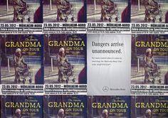 Mercedes-Benz Transporter: Danger Doesn't Announce Itself, Grandma
