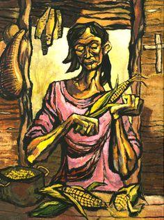 dilema        Augusto marín (1921-2011), puertorriqueño. Es uno de los más destacados pintores y muralistas puertorriqueños de la segunda ...