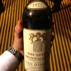 #MontrealPassionVin #ColDOrcia #1977 #BrunelloDiMontalcino #Brunello #Sangiovese #SangioveseGrosso #Toscana #Tuscany #Italy #red #wine #winegeek #winepoor #wineporn #wineries #winaholic #winelover #winelucky #wineaddict #wineoclock #winestrong #winestagram #wineisamazing #Bigjuice - See more at: http://iconosquare.com/tag/coldorcia#/list