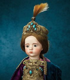 Outstanding French Bisque Art Character Doll by Albert Marque, #7 from the Series 180,000/220,000 | Art, Antiques & Collectibles Toys & Hobbies Dolls | Auctions Online | Proxibid
