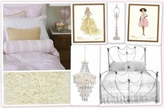 Fashion Brocade Bedroom