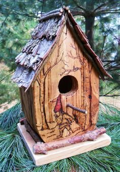 Our birdhouses are designed to be both whimsical in the garden and a ...