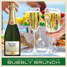 Sutter Home June Social Hour: Let's have a Bubbly Brunch!