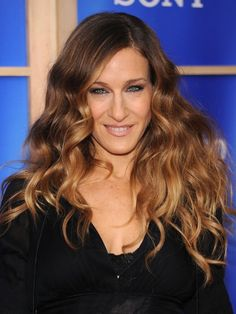 This intrepid reporter just tried 2 trends (as seen on SJP): Ombré hair AND the new brushed-out curls