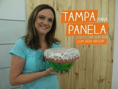Tampa para Tigela com Vera Brugin | Vitrine do Artesanato na TV - YouTube