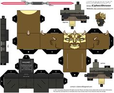 Cubercraft de Star Wars TODOS