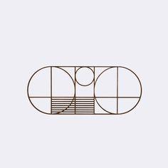 Outline Trivet - Oval