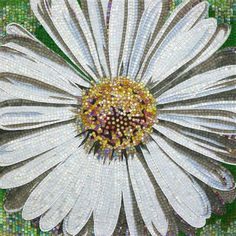 Sicis Mosaico Flower Power white