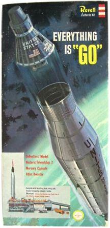 1962 Revell Atlas kit