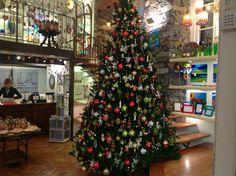 """Christmas tree in the shop """" I vetri di Bellagio"""""""