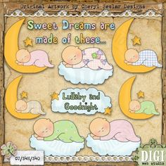 lullabies-the first songs my Mom sang to me...and I sang to my own babies and grandbabies