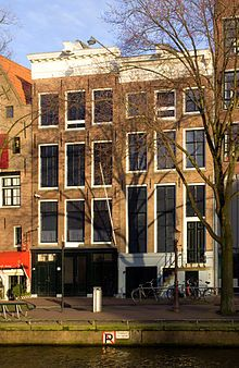 Visit the Anne Frank house in Amsterdam!