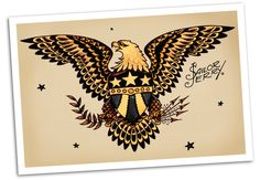 sailor jerry eagle - Google Search